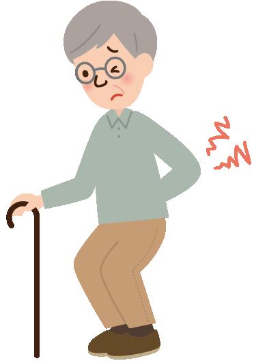 加齢 身体機能が低下