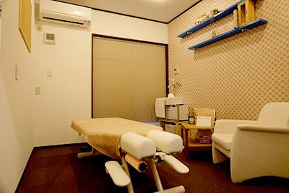 リセットの施術室