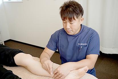 レ-ザ-治療と鍼治療